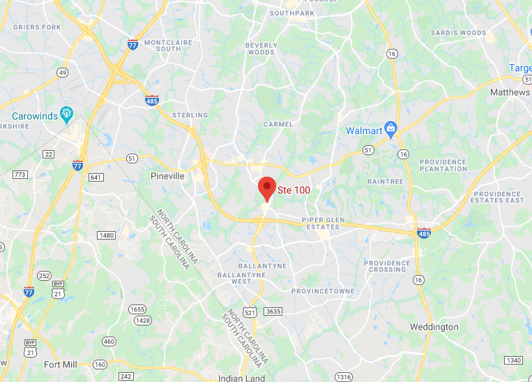Map of Charlotte Location